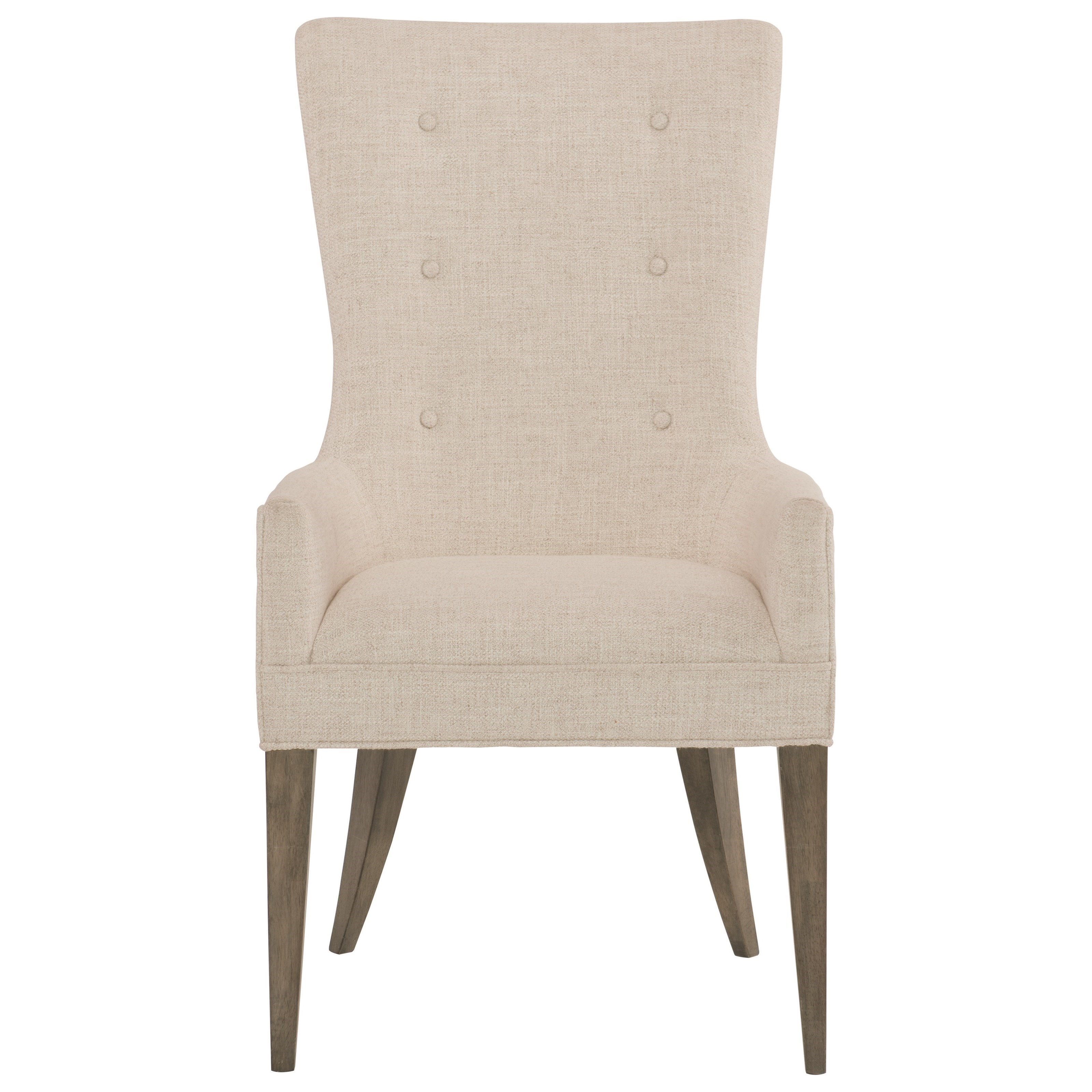 Bernhardt Profile Upholstered Arm Chair - Item Number: 378-548