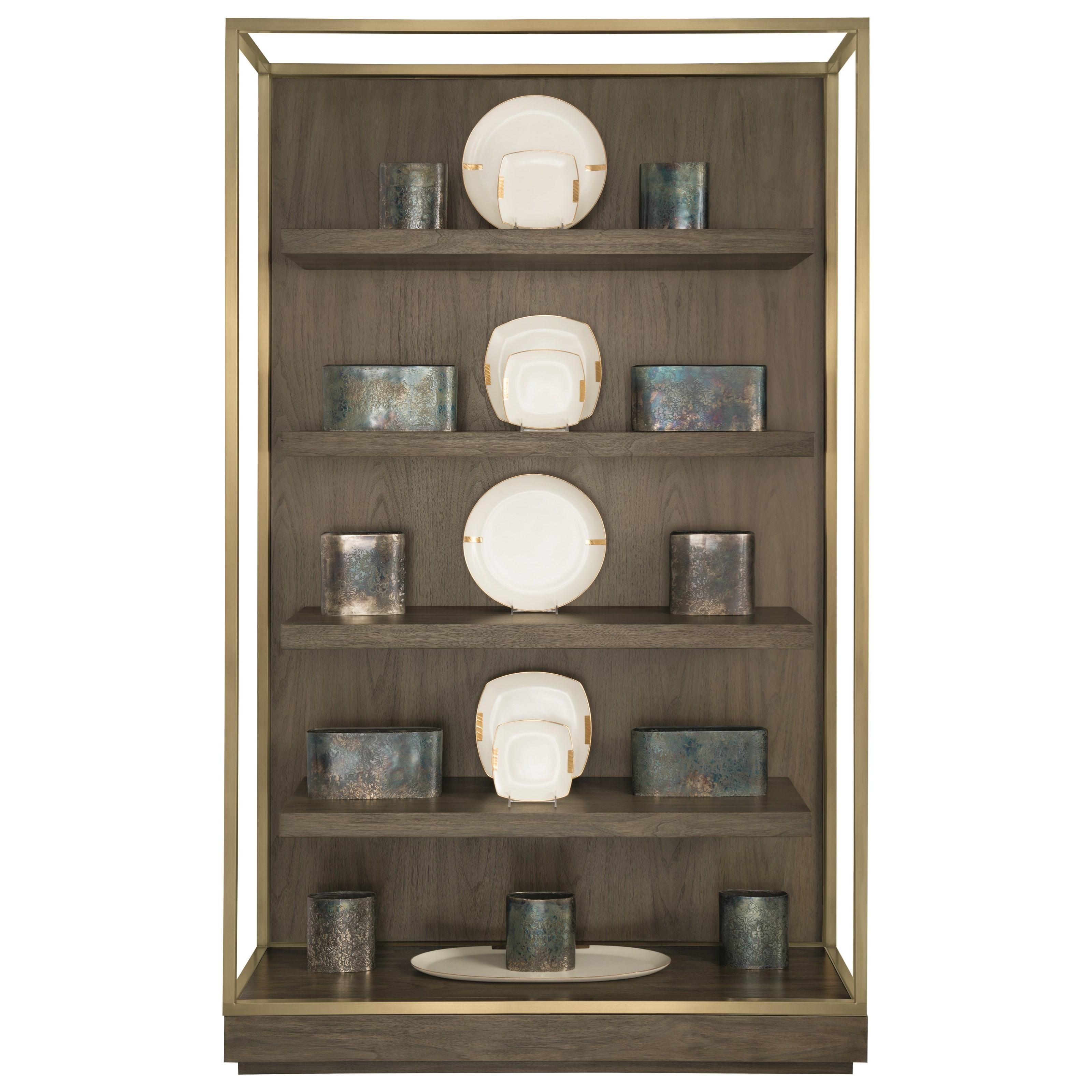 Bernhardt Profile Etagere with Floating Shelves - Item Number: 378-812