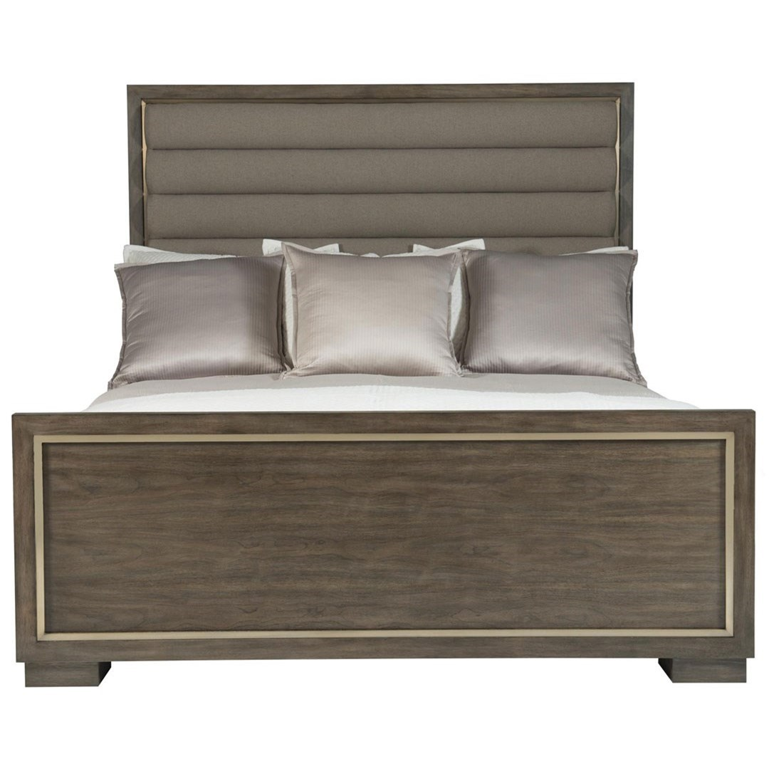 Swell Bernhardt Profile Queen Panel Bed With Upholstered Headboard Interior Design Ideas Pimpapslepicentreinfo