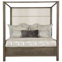 Bernhardt Profile King Poster Bed - Item Number: 378-H59, 378-F59, 378-R59