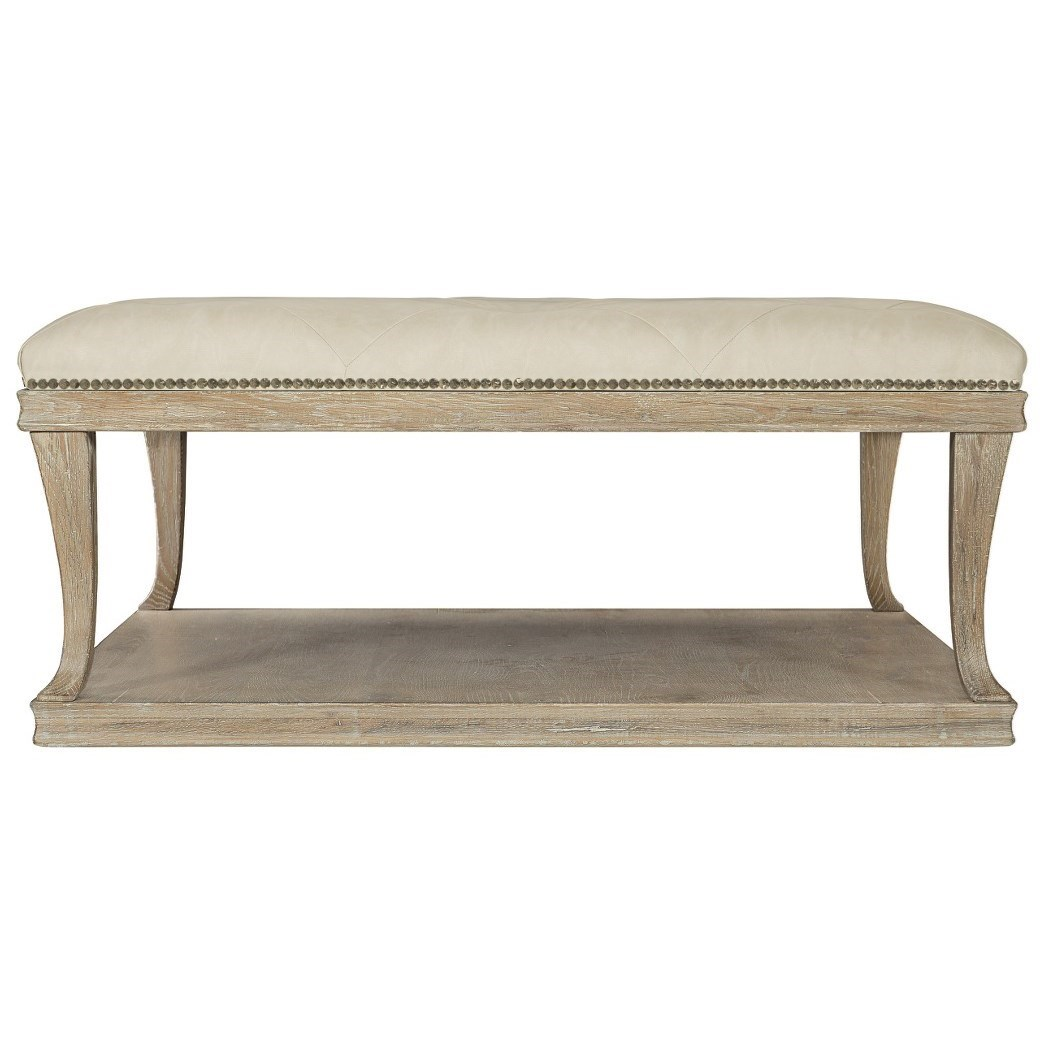 Upholstered Cocktail Table