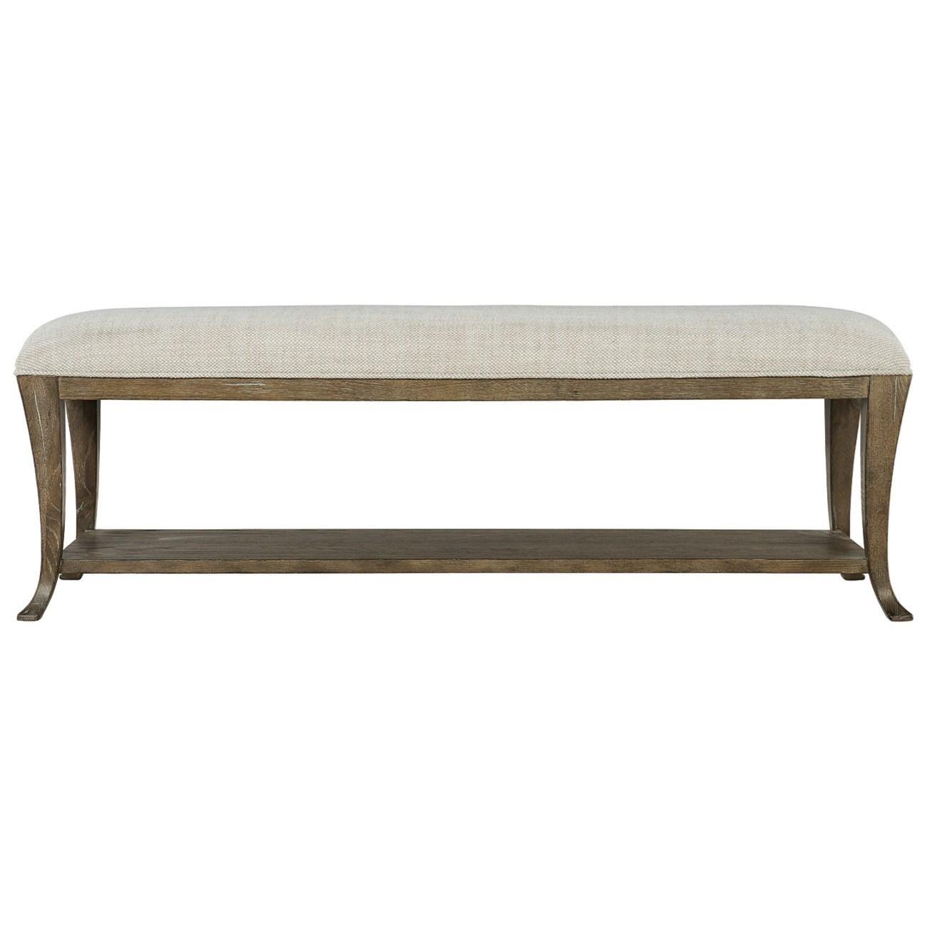 Bernhardt Rustic Patina Customizable Rustic Upholstered