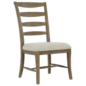Customizable Ladderback Side Chair
