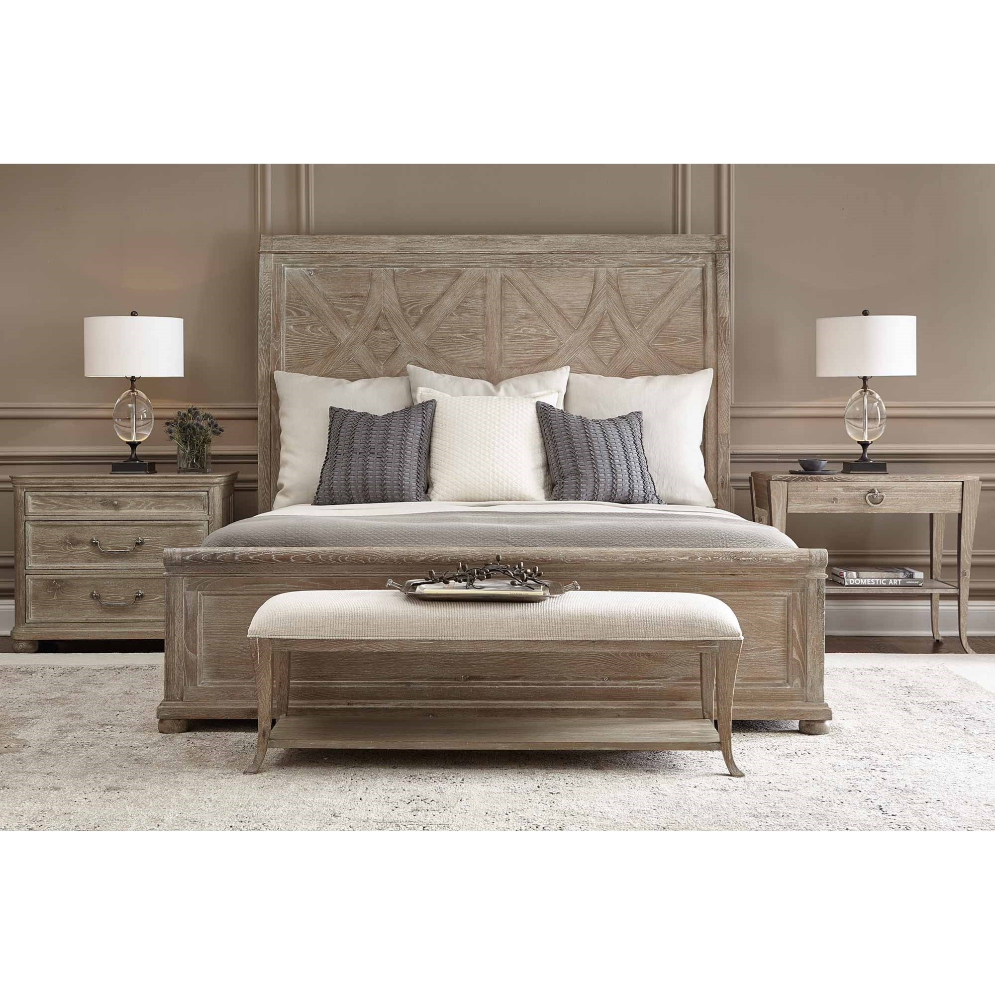 Rustic Patina California King Bedroom Group