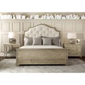 Bernhardt Rustic Patina California King Bedroom Group - Item Number: Sand CK Bedroom Group 2