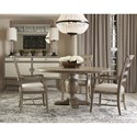 Bernhardt Rustic Patina Dining Room Group - Item Number: Sand Dining Room Group 1