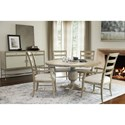 Bernhardt Rustic Patina Dining Room Group - Item Number: Sand Dining Room Group 2