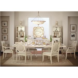 7 Piece Dining Set with Rectangular Table