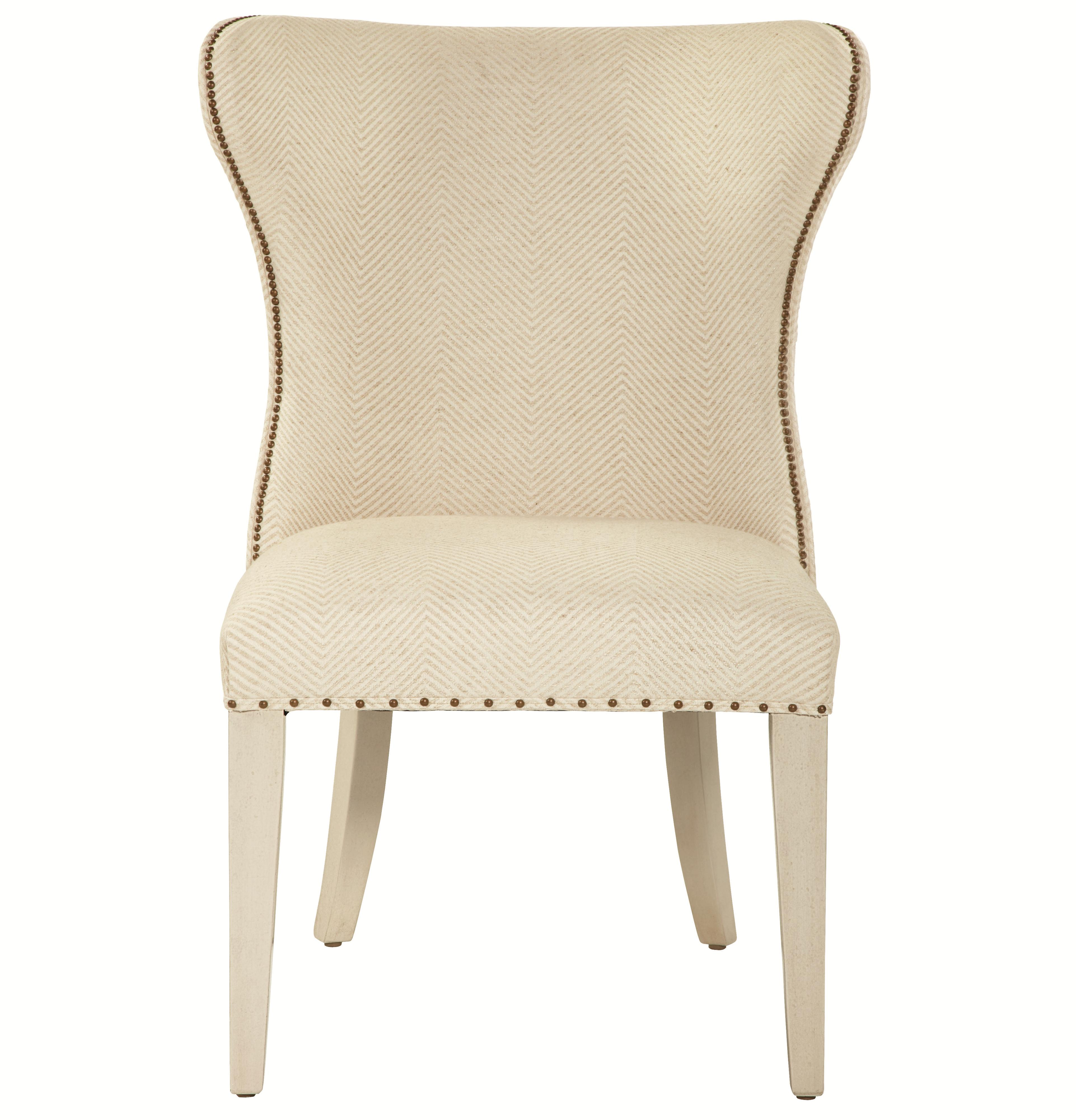 Bernhardt Salon Upholstered Wing Dining Chair - Item Number: 341-541