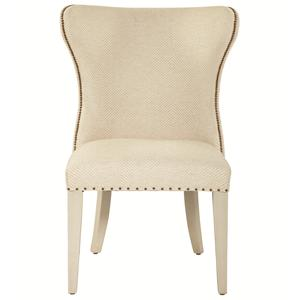 Bernhardt Salon Upholstered Wing Dining Chair