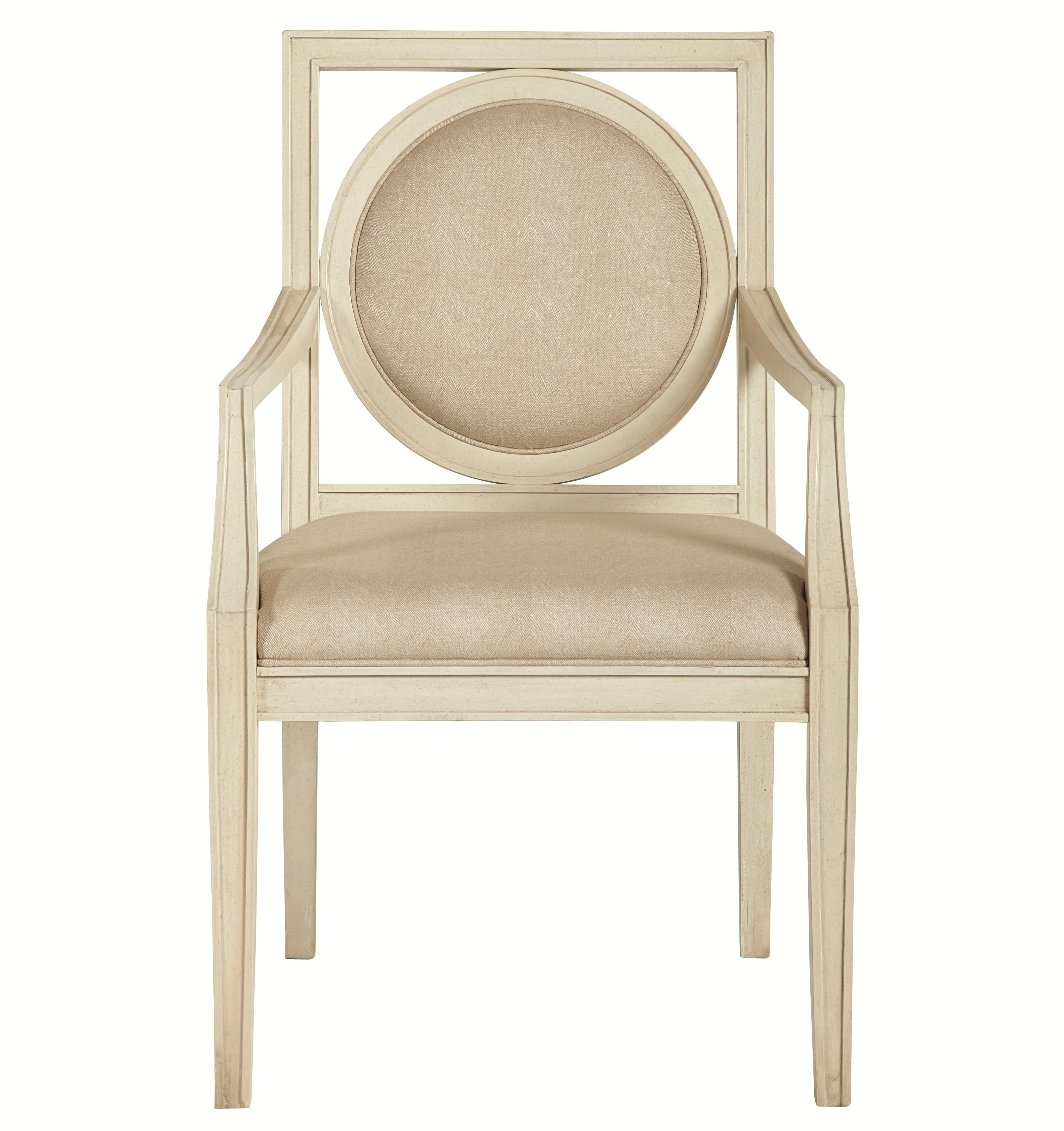 Bernhardt Salon Arm Chair - Item Number: 341-562
