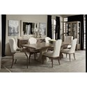 Bernhardt Santa Barbara 7-Piece Table and Chair Set - Item Number: 385-242-385-244+2x542+4x561