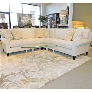 Bernhardt Signature Seating Customized Sectional