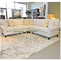 Bernhardt Signature Seating Customized Sectional - Item Number: PKG541265