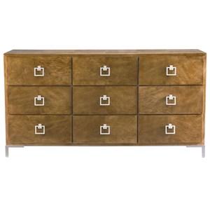 Bernhardt Soho Luxe Modern 9-Drawer Dresser