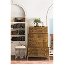 Bernhardt Soho Luxe Contemporary Three-Tiered Tall Chest with 8-Drawers