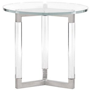Bernhardt Soho Luxe Modern Round End Table