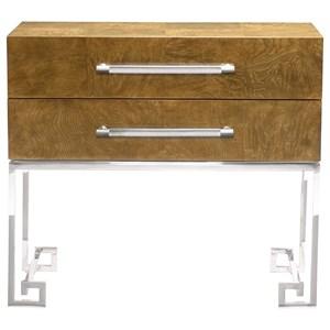 Bernhardt Soho Luxe Modern 2-Drawer Nightstand