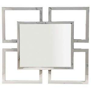 Bernhardt Soho Luxe Modern Metal Mirror
