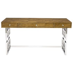 Bernhardt Soho Luxe Modern 3-Drawer Desk