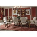 Bernhardt Soho Luxe Traditional Arm Chair with Nailhead Trim