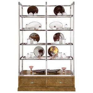 Bernhardt Soho Luxe Modern Display Cabinet
