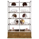 Bernhardt Soho Luxe Modern Display Cabinet - Item Number: 368-812