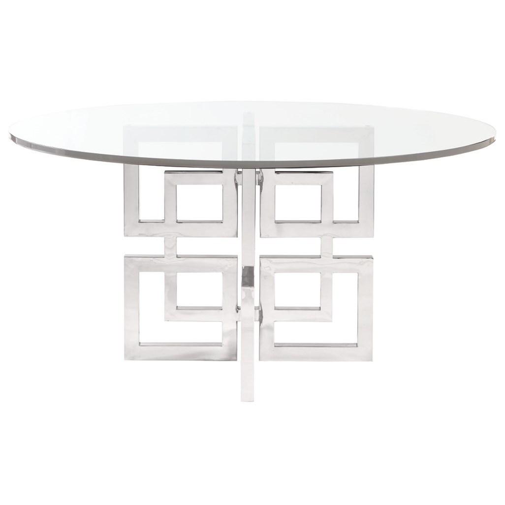 Bernhardt Soho Luxe Modern Dining Table - Item Number: 368-E60+773
