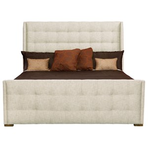Bernhardt Soho Luxe Cal King Upholstered Sleigh Bed