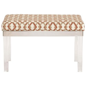 Bernhardt Soho Luxe Modern Customizable Bench