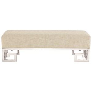 Bernhardt Soho Luxe Modern Customizable Bench