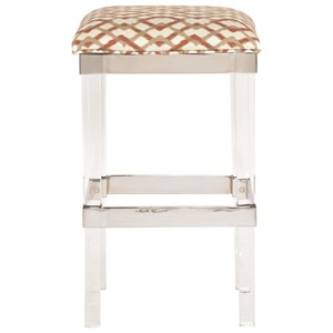 Bernhardt Soho Luxe Contemporary Bar Stool