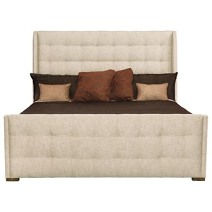 Bernhardt Soho Luxe Customizable Sleigh Queen Bed