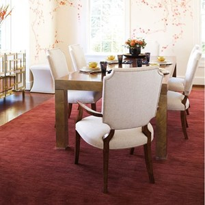 Bernhardt Soho Luxe Modern Dining Room Group