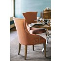 Bernhardt Soho Luxe Dining Room Group with 4 Upholstered Chairs