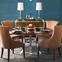 Bernhardt Soho Luxe Dining Room Group - Item Number: Dining Room Group 2