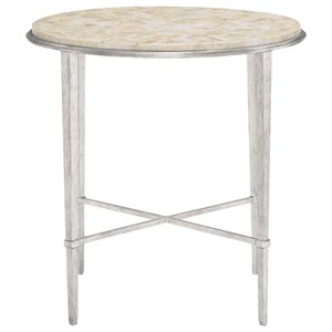 Bernhardt Solange Round Chairside Table