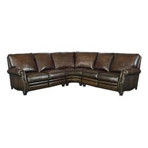 Bernhardt 723 Reclining Leather Sectional