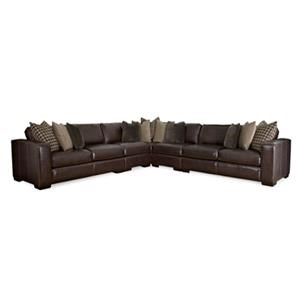 Bernhardt 723 Leather Sectional