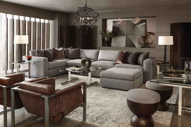 Stafford Stafford Sectional by Bernhardt at Sprintz Furniture