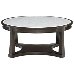 Bernhardt Sutton House Round Cocktail Table