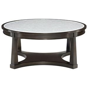 Bernhardt Sutton House Round Cocktail Table