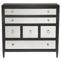 Bernhardt Sutton House Drawer Chest with Silver Eglomise Drawer Fronts