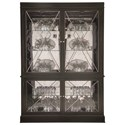 Bernhardt Sutton House China Cabinet with Touch Light