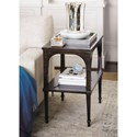 Bernhardt Sutton House End Table with Shelf