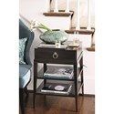 Bernhardt Sutton House End Table with 2 Shelves