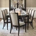 Bernhardt Sutton House 9 Piece Dining Set - Item Number: 367-222+2x542+6x541