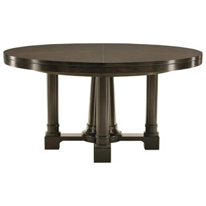 Bernhardt Sutton House Round Pedestal Dining Table