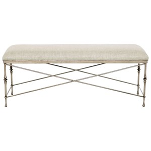 Bernhardt Sutton House Metal Bench
