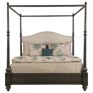 Bernhardt Sutton House Queen Upholstered Canopy Bed